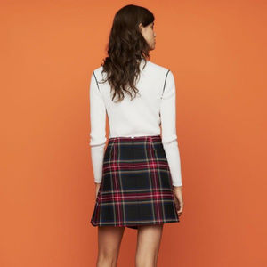 Maje Skirts - Maje 'Judie' Plaid Kilt Skirt size 38